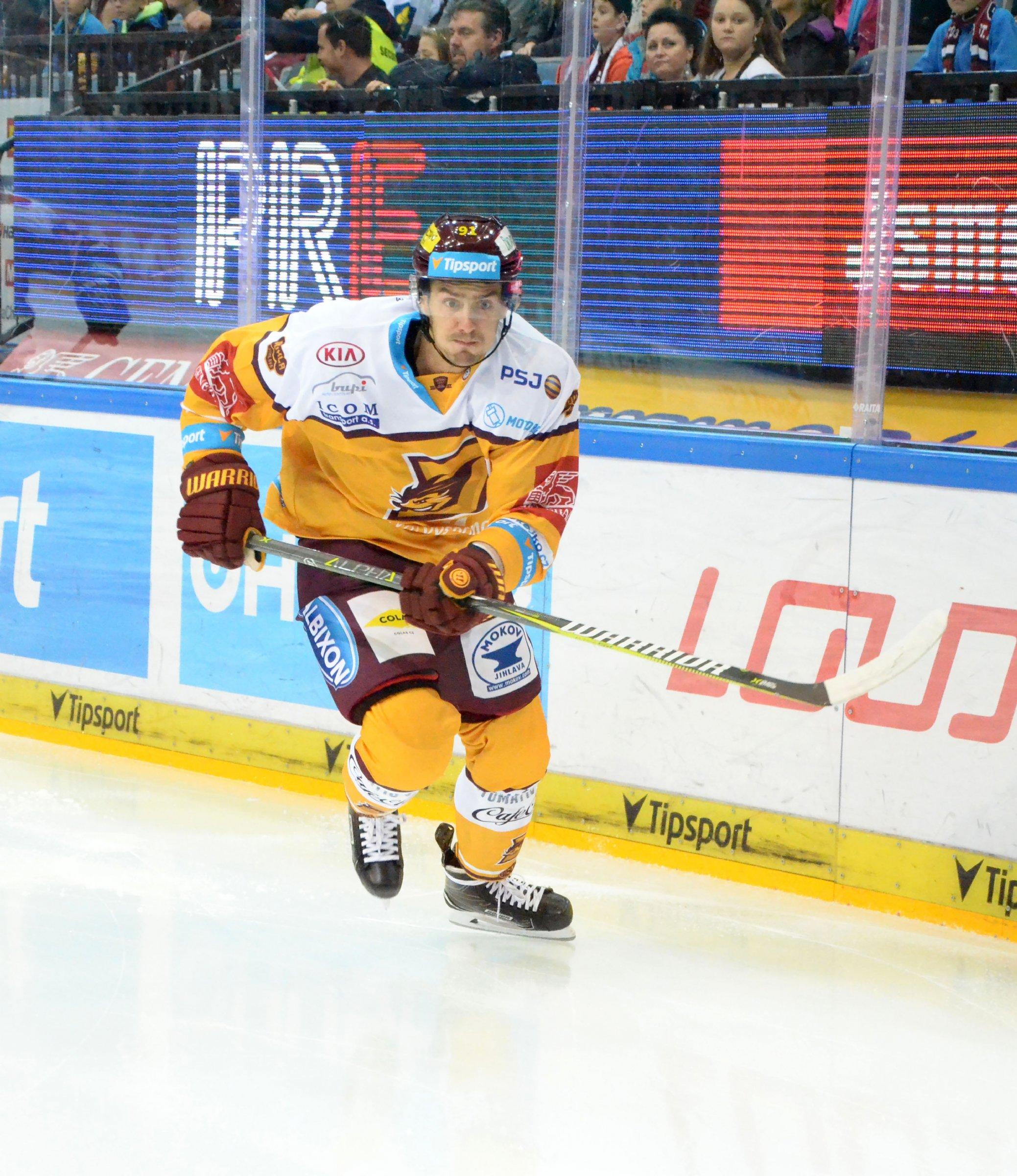 Tomáš Jiránek se na ledě Sparty dokázal gólově prosadit